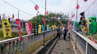南浅川の鯉のぼり3.JPG