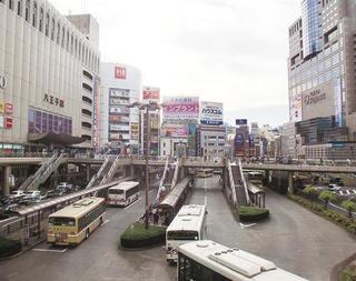 """市の""""顔""""となるJR八王子駅周辺。北口ではさまざまなまちづくり事業が計画.jpg"""