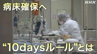 """病床確保へ """"10daysルール""""とは 東京 八王子.jpg"""