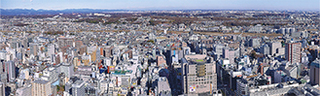 JR八王子駅北口方面の眺望=八王子市提供.jpg